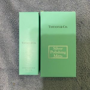Jewelry - TIFFANY & CO. SILVER POLISH CREAM AND MITTS